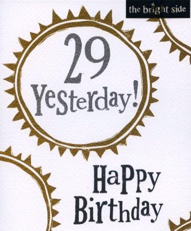 29 Yesterday.