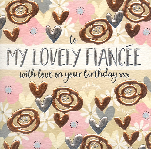 To my lovely Fiancee