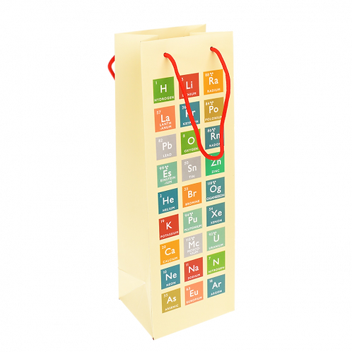 Periodic Table Bottle Bag