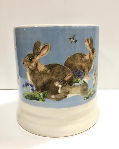 Rabbits Half Pint Mug.