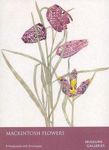 Mackintosh Flowers 8 Notecards