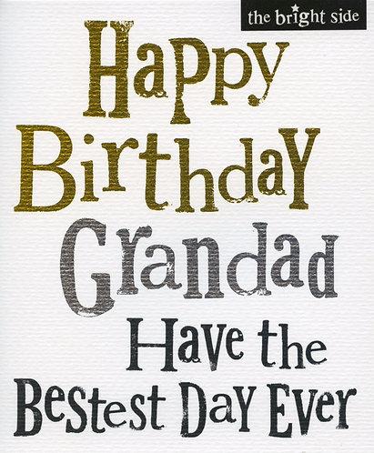 Grandad ...Happy Birthday.