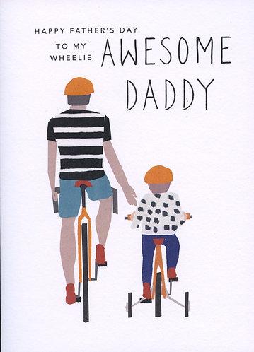 Wheelie awesome daddy