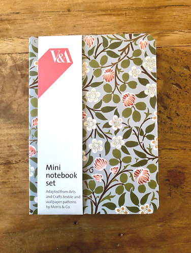Set of 3 arts and crafts notebooks.