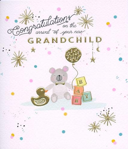 Congratulations on the Birth of Your New Grandchild.
