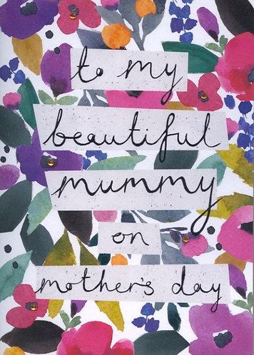 To My Beautiful Mummy