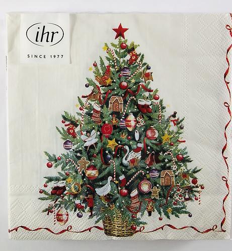 Paper Napkins, Christmas Tree.