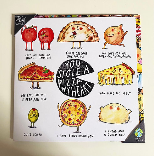 Pizza Pun Love