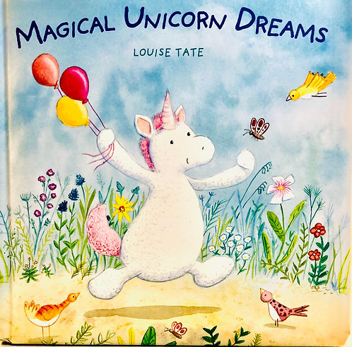 Magical Unicorn Dreams Book.