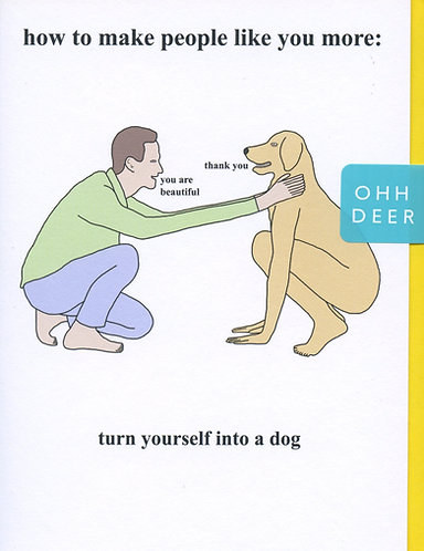 Turn yourself into a Dog