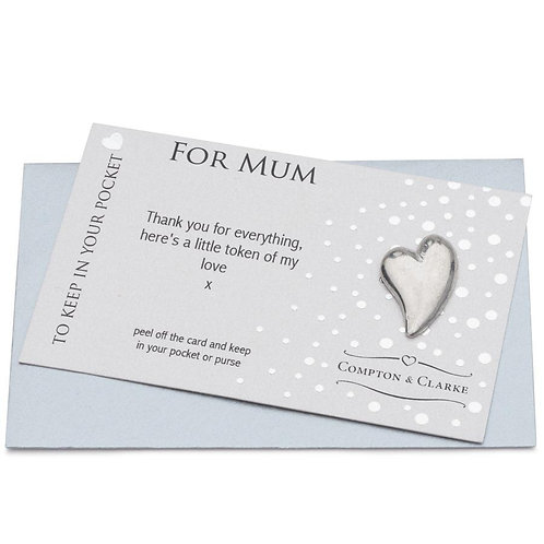 For Mum Carded Charm