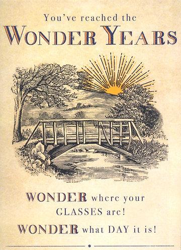 Wonder Years.