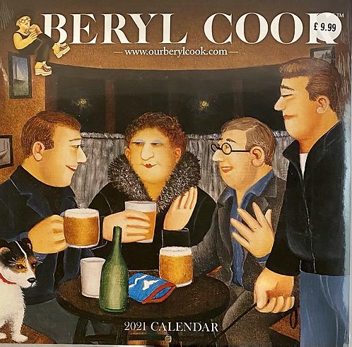 Calendar 2021 Wall Beryl Cook