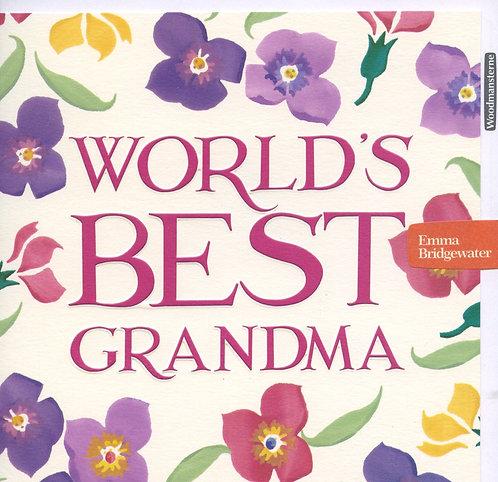 Grandma, Worlds best.