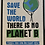 Thumbnail: Save The Planet Book.