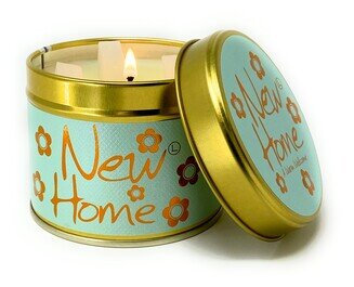 New Home Lily Flame Candle