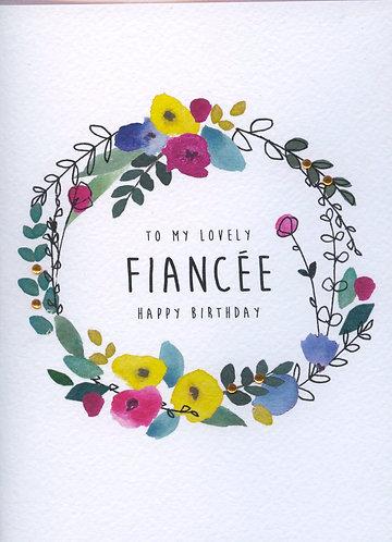 Fiancee, my lovely.
