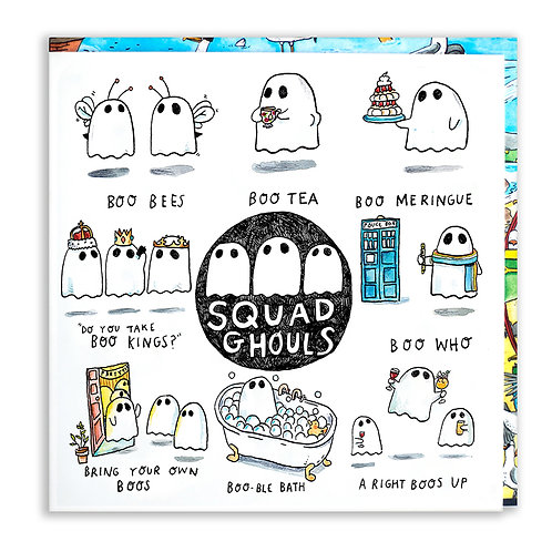Squad Ghouls Card