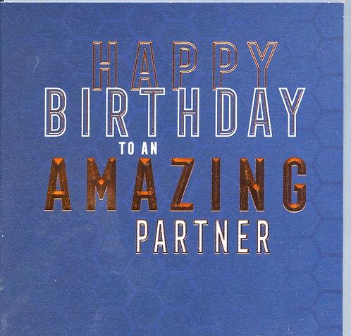Partner, Happy Birthday..