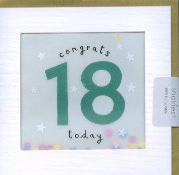 18 Congrats.