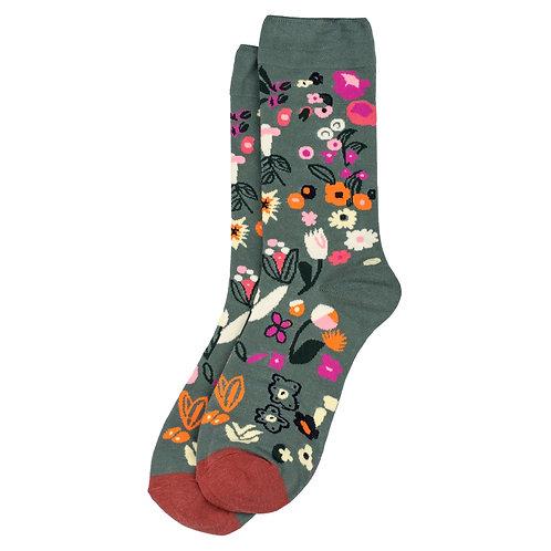 Meadow Flower Socks