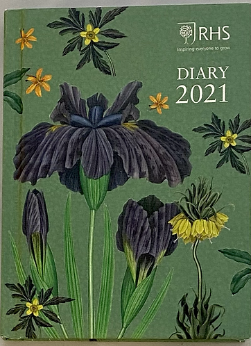 Diary 2021 RHS Hardback Pocket