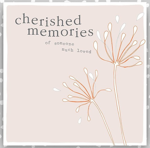 Cherished Memories Card