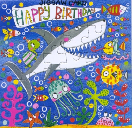 Happy Birthday under the sea.