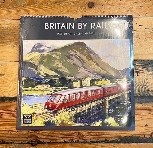 Britain by Rail Poster Calendar 2021