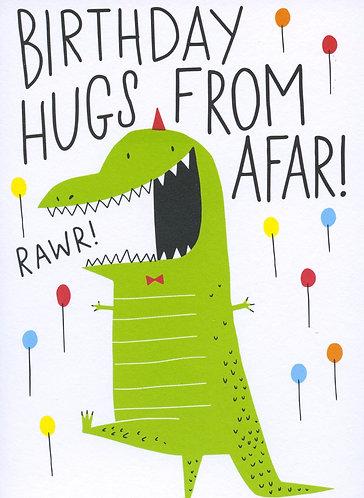 Birthday Hugs from afar