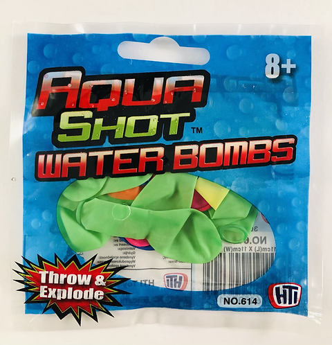 Water Bombs.