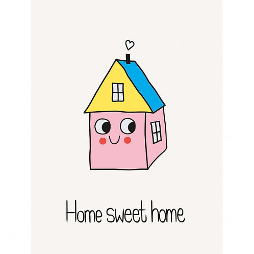 Home Sweet Home Mini Card