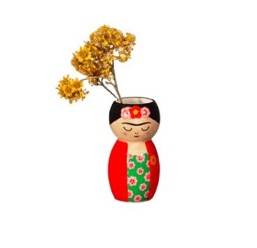 Frida Kahlo Mini Vase