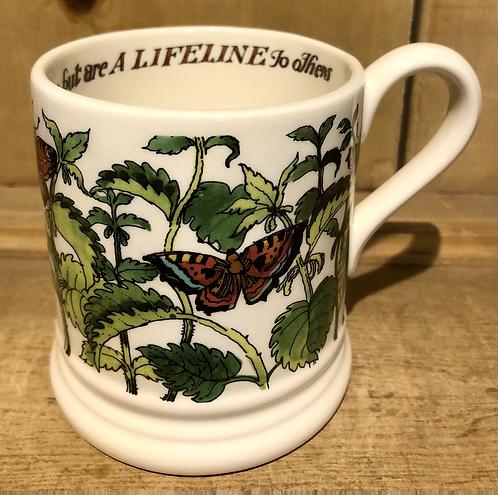 Good Gardeners, Nettles half pint mug.