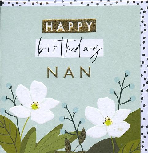 Nan, Happy Birthday.
