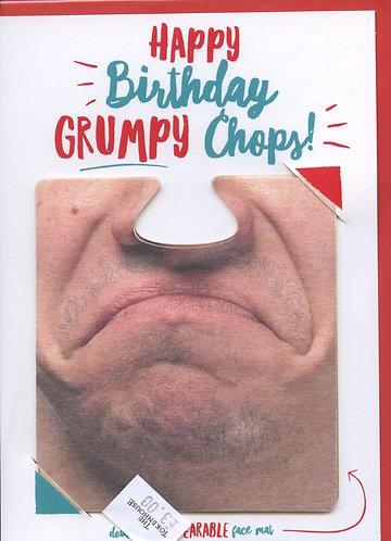 Happy Birthday Grumpy Chops.