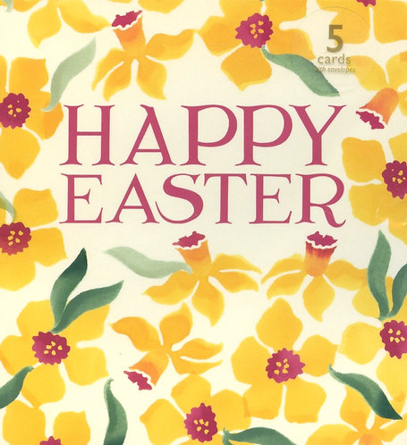 Happy Easter Pack of 5 cards.