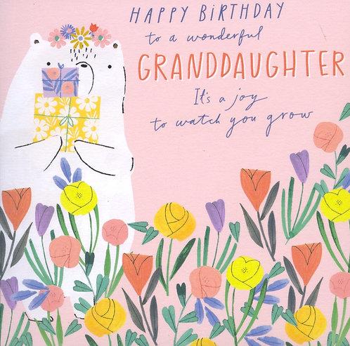 Granddaughter.. Happy Birthday