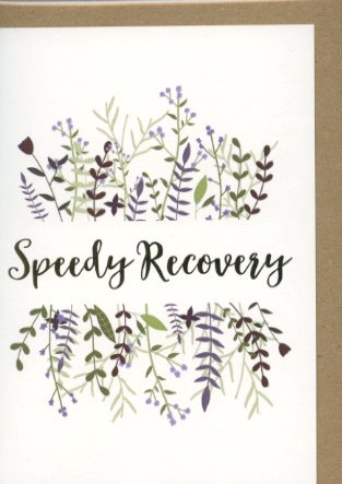 Speedy Recovery.