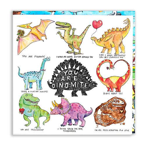 You Are Dinomite! Card