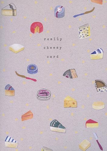 really cheesy card