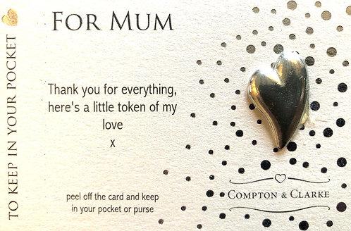 Carded Charm Mum.