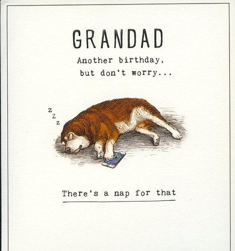 Grandad, Another Birthday.
