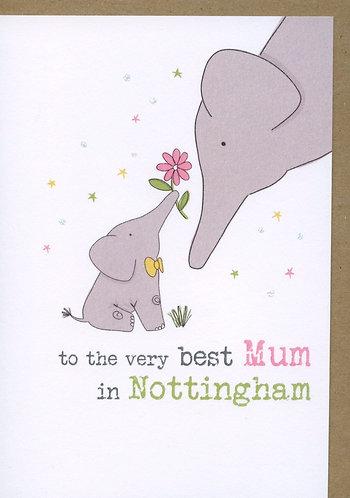 Mum, the best in Nottingham.