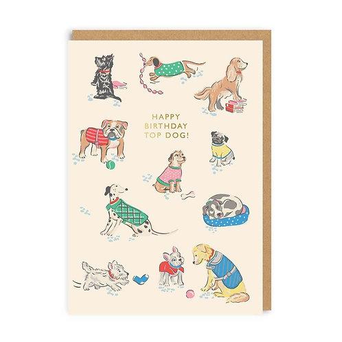 Cath Kidston Top Dog Card