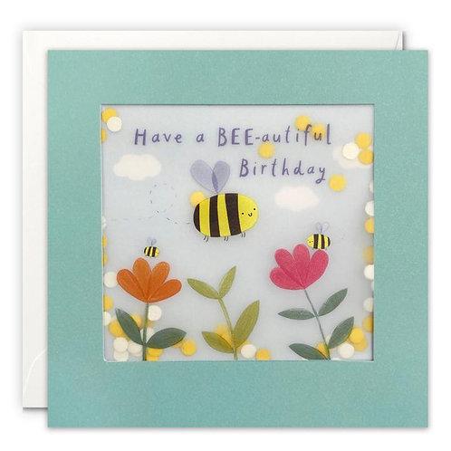 Bee-autiful Birthday Card
