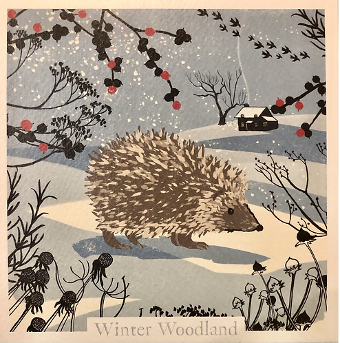 Winter Woodland box of 20 assorted cards