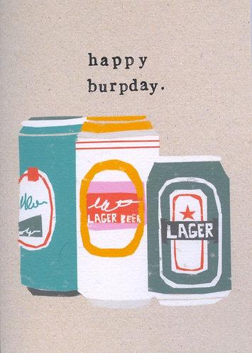 Happy Burpday