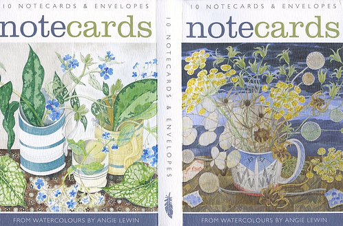 10 Notecards by Angie Lewin