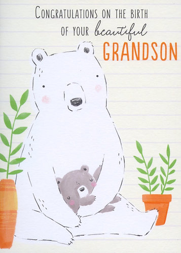 Congratulations on the Birth of Your Beautiful Grandson.